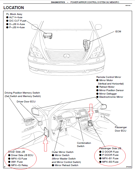 lexus ls430 fuse box diagram