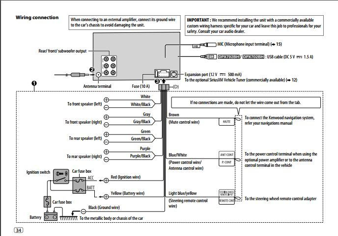 kenwood radio wiring diagram for dd