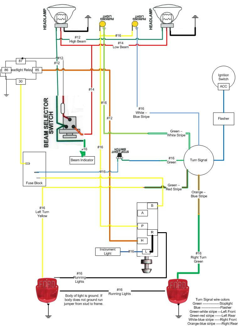 72 ford truck wiring diagrams