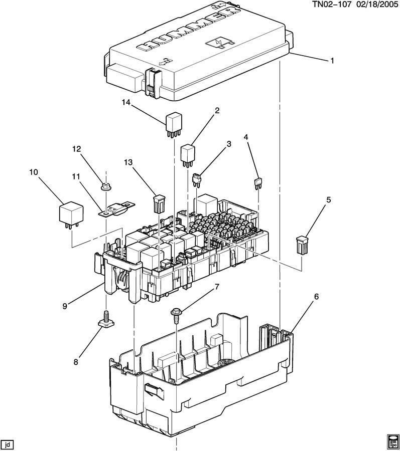 fuse box terminals