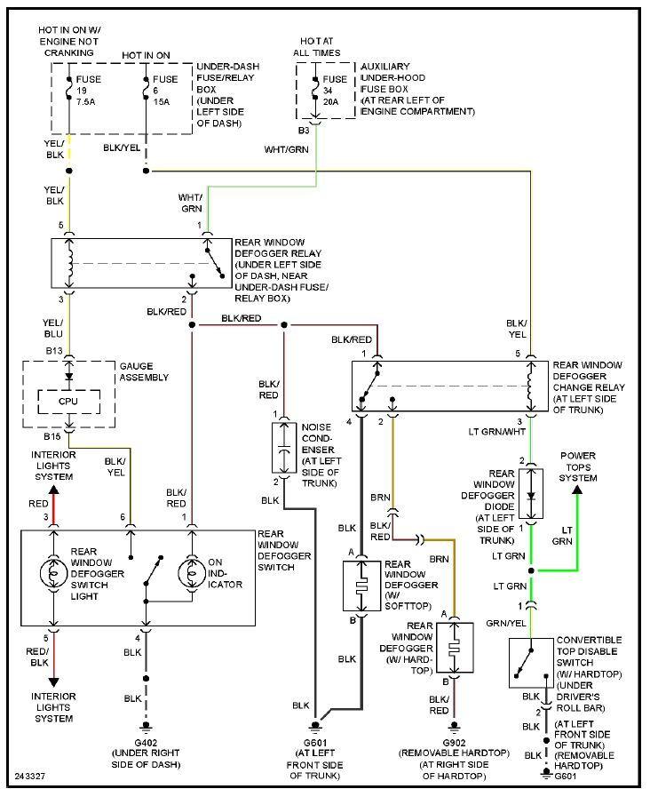 s2000 starter diagram