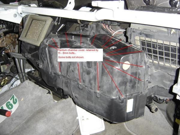 Ford F250 Replace Blend Door How to - Ford-Trucks