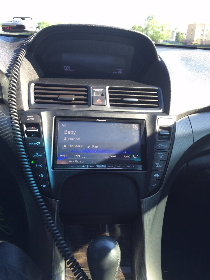 4G Base Aftermarket Radio Install - AcuraZine - Acura Enthusiast