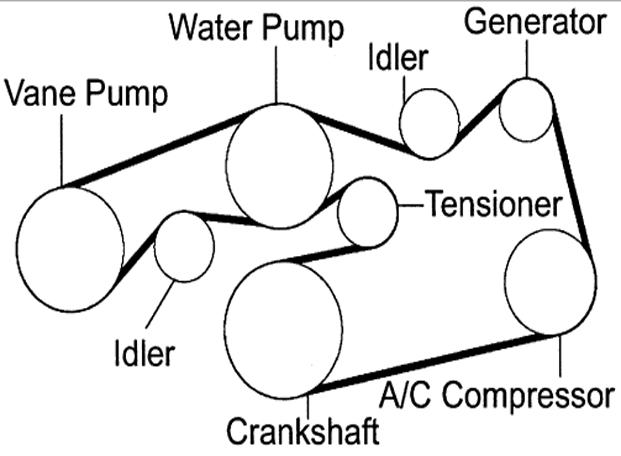 2008 lexus es 350 Motor diagram