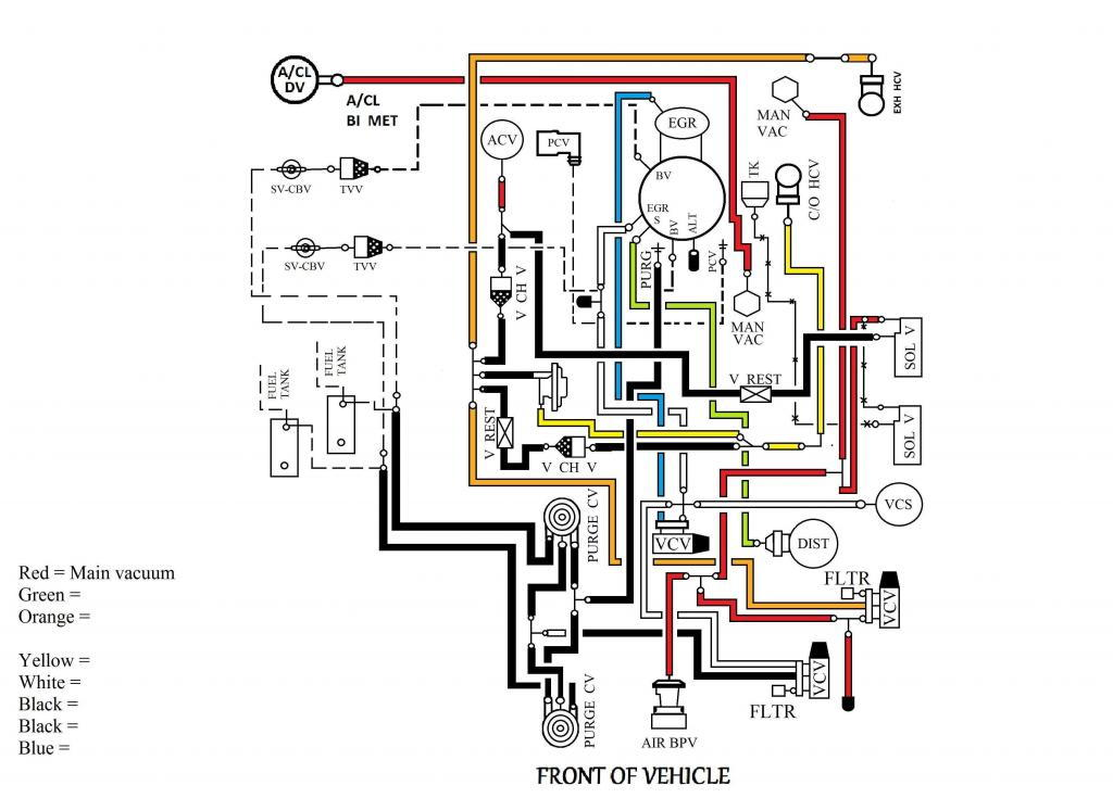 1992 ford f150 5 0 vacuum system diagram wiring