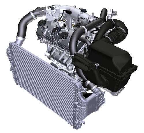 35L Ecoboost Engine Diagram/CAD Data/3D Model - Ford Truck