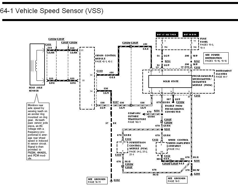 circuit diagram ford truck enthusiasts forums