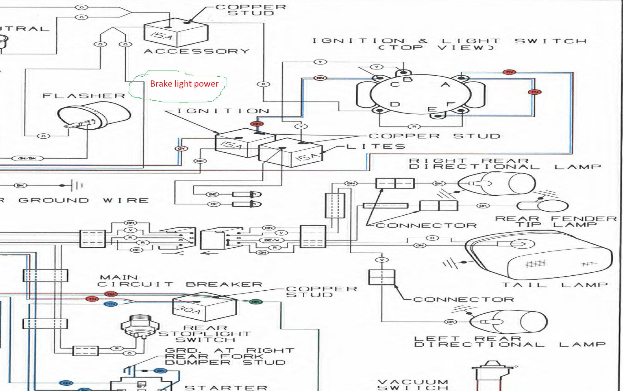 97 softail wiring diagram