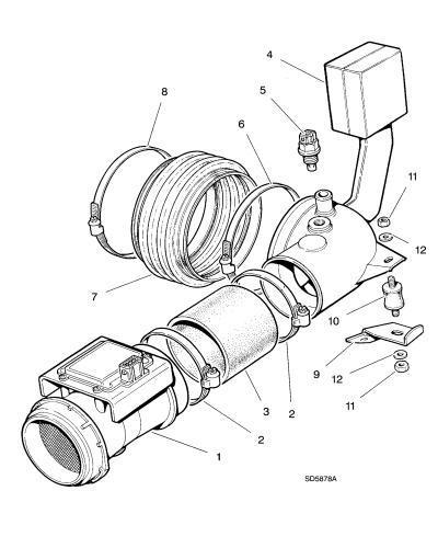 jaguar exhaust manifold diagram