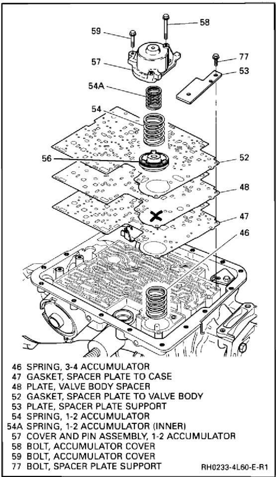 4l60e Transmission Accumulator Diagram Wiring Schematic Diagram