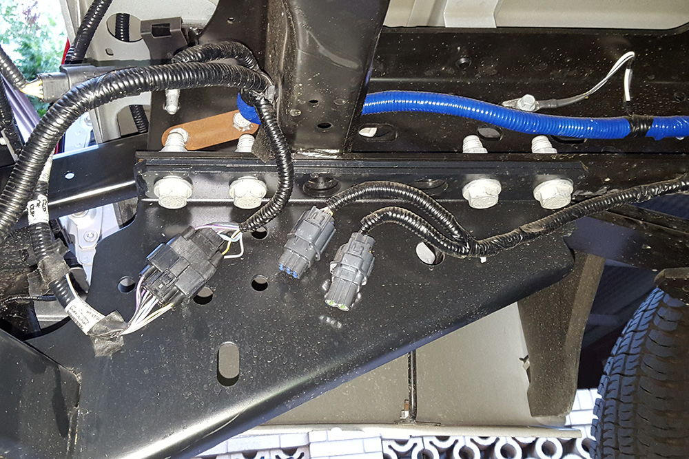 5th wheel wire harness
