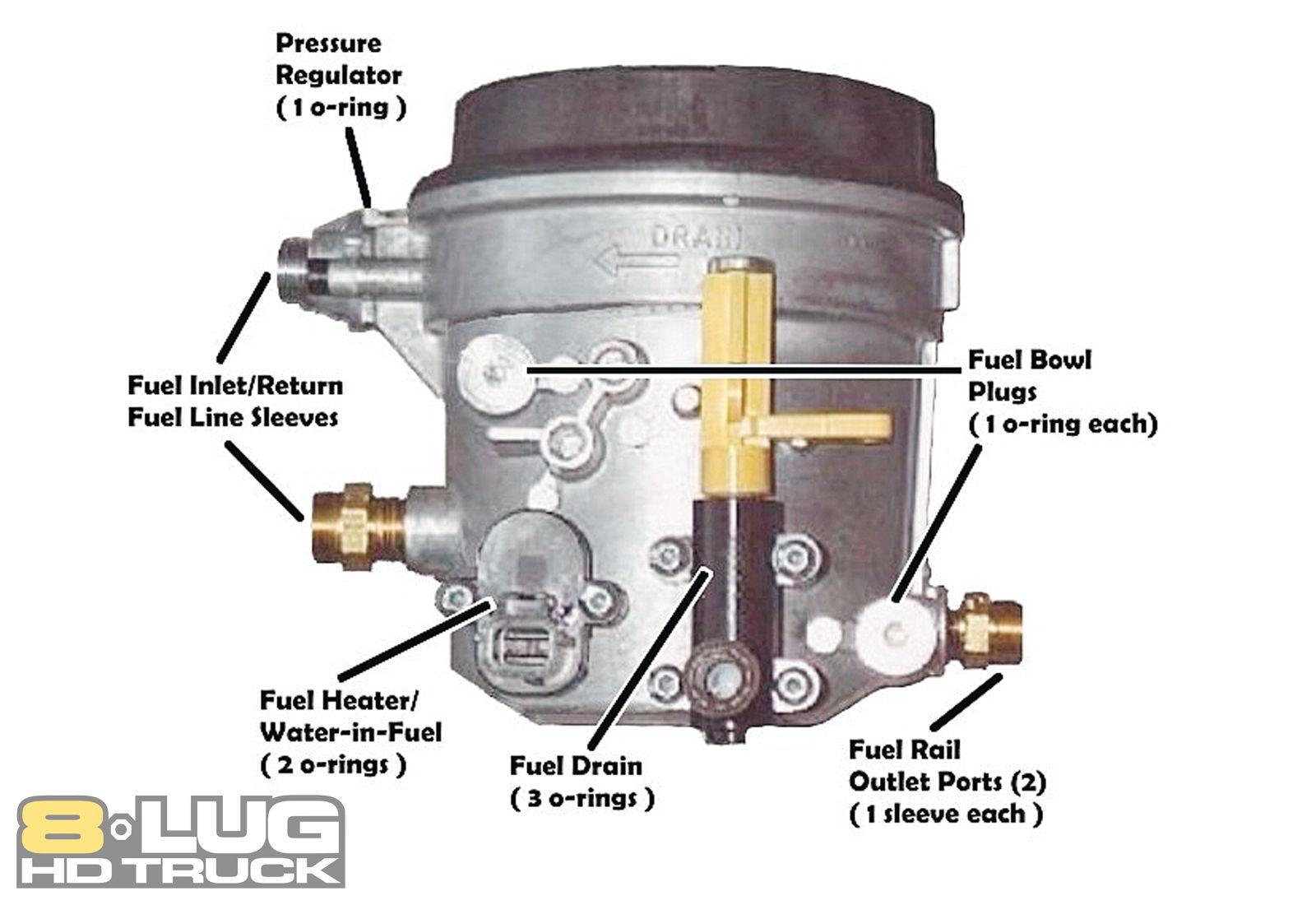 7 3 fuel filter drain valve