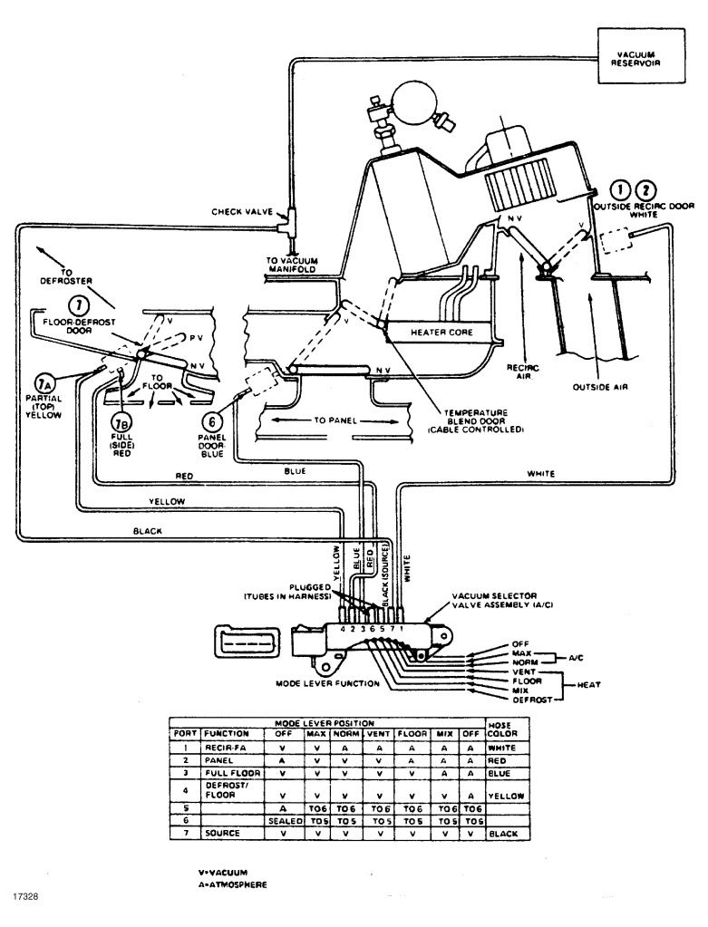 1977 ford f250 radio wiring diagram