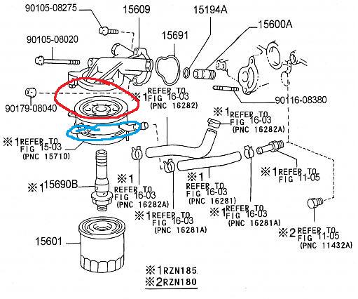 tacoma fuel filter leak