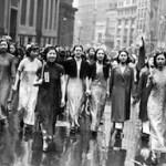 Le dimostrazioni anti giapponesi delle donne cinesi a New York nel 1938