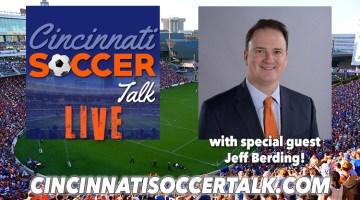 Live with FC Cincinnati's Jeff Berding