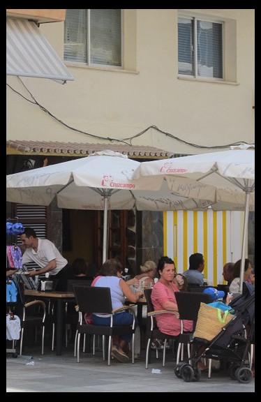 August 14, 2014 - Spanish food at La Venencia, Marbella