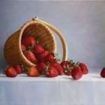 Nantucket Basket with Strawberries