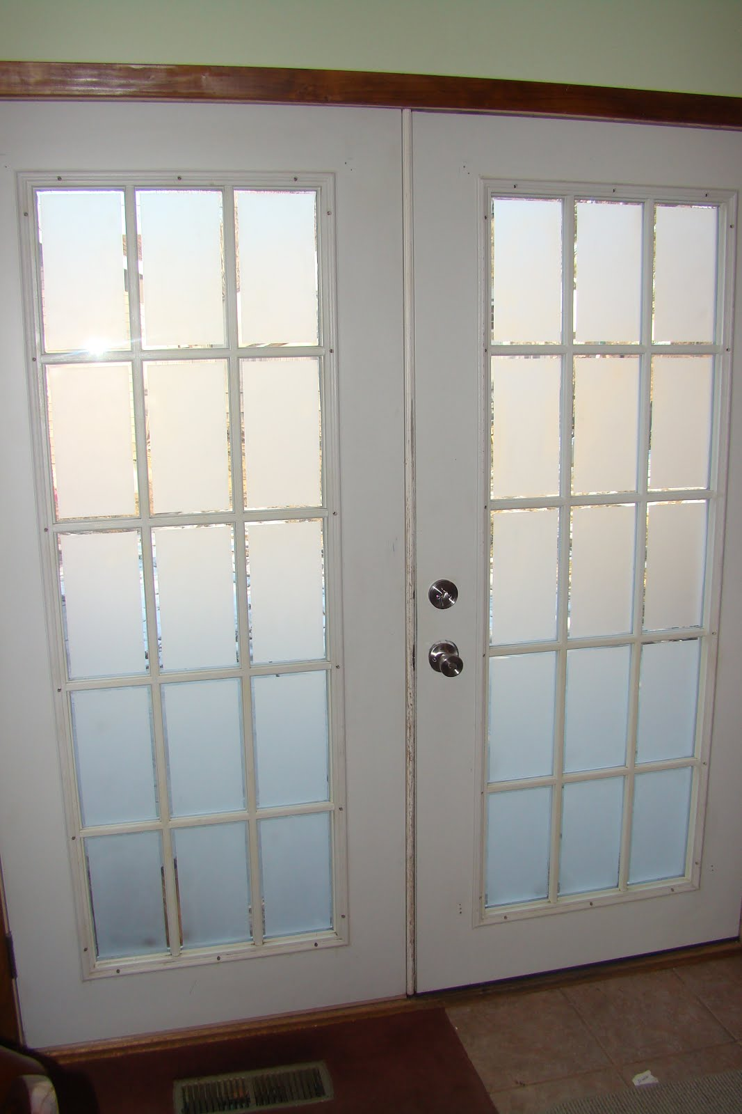 Mobile Home French Doors Exterior