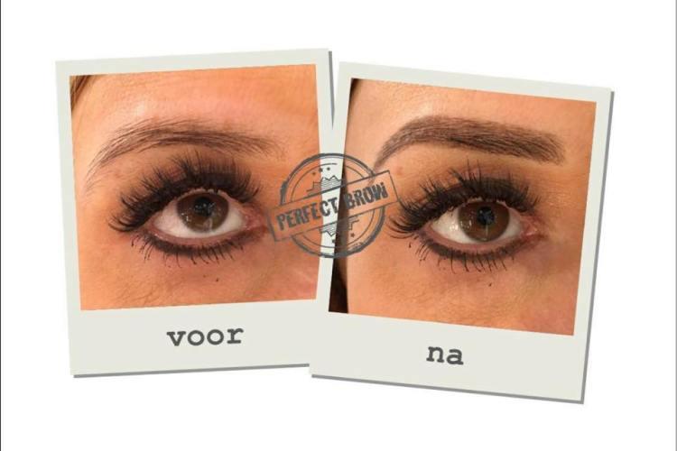 voor en na perfect brow 2