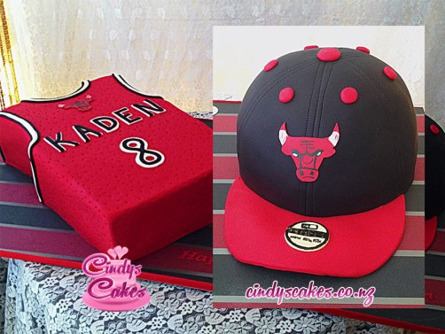 Cap and Jersey Cake
