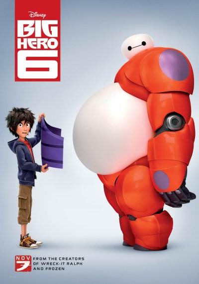 Big Hero es una película animada producida por Walt Disney Animation Studios, que se basa en el cómic de Marvel.
