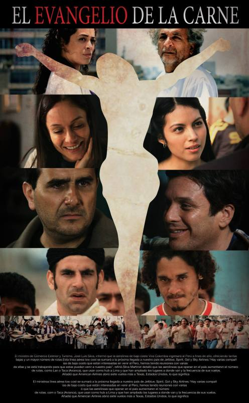 """Peru, """"El evangelio de la carne"""" (The Gospel of the Flesh), Eduardo Mendoza, director;"""