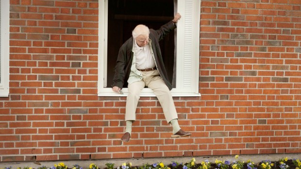 The centenarian who climbed out