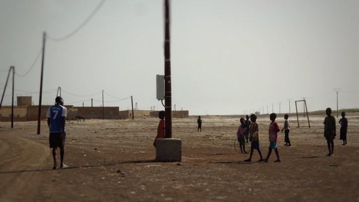 Djioudj / dans le village enclavé de Débi Tiguet