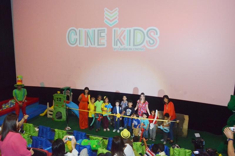 Corte de cinta Cine Kids