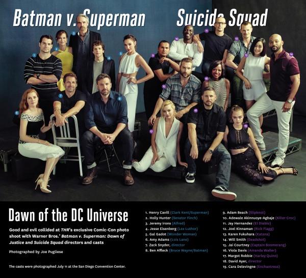 Mira a los Elencos de 'Batman V Superman: Dawn of Justice ...