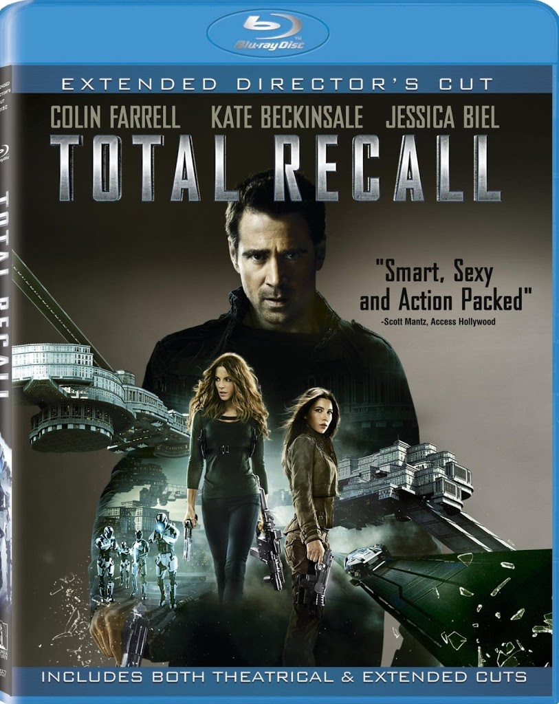Blu-ray Review: Total Recall (2012)