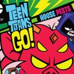 Teen Titans Go House Pests DVD feat