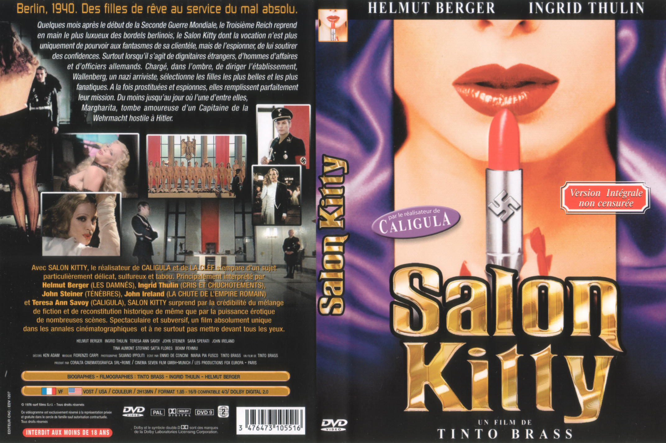 Salon Kitty Jaquette Dvd Salon Kitty Le Grand Homme Images Pictures