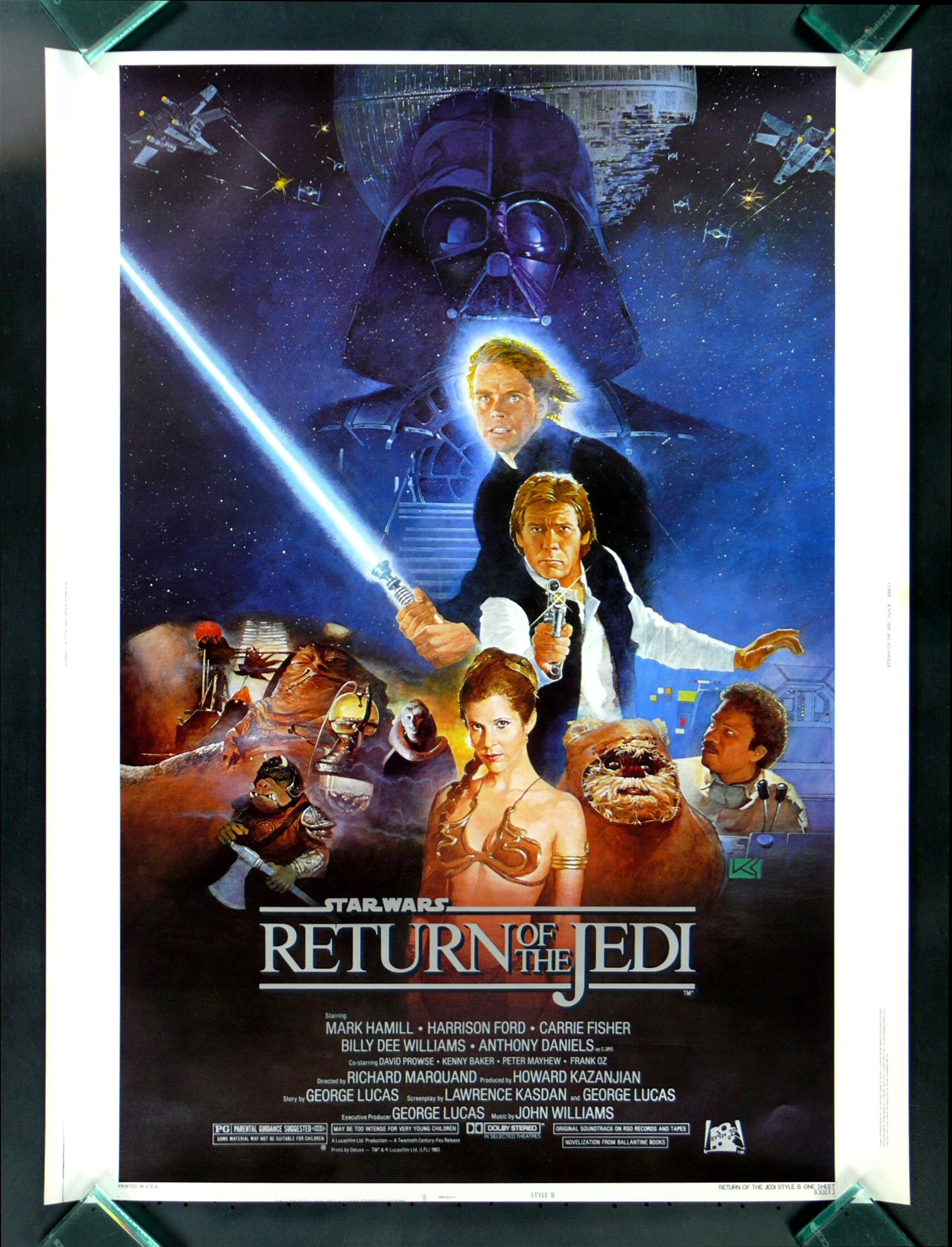 Poster 30x40 Return Of The Jedi * Cinemasterpieces 30x40 Movie Poster