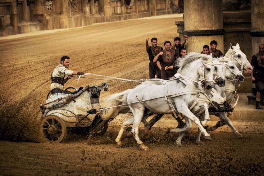 Ben-Hur\u0027 Fun Behind The Scenes Moments with the Cast Interviews