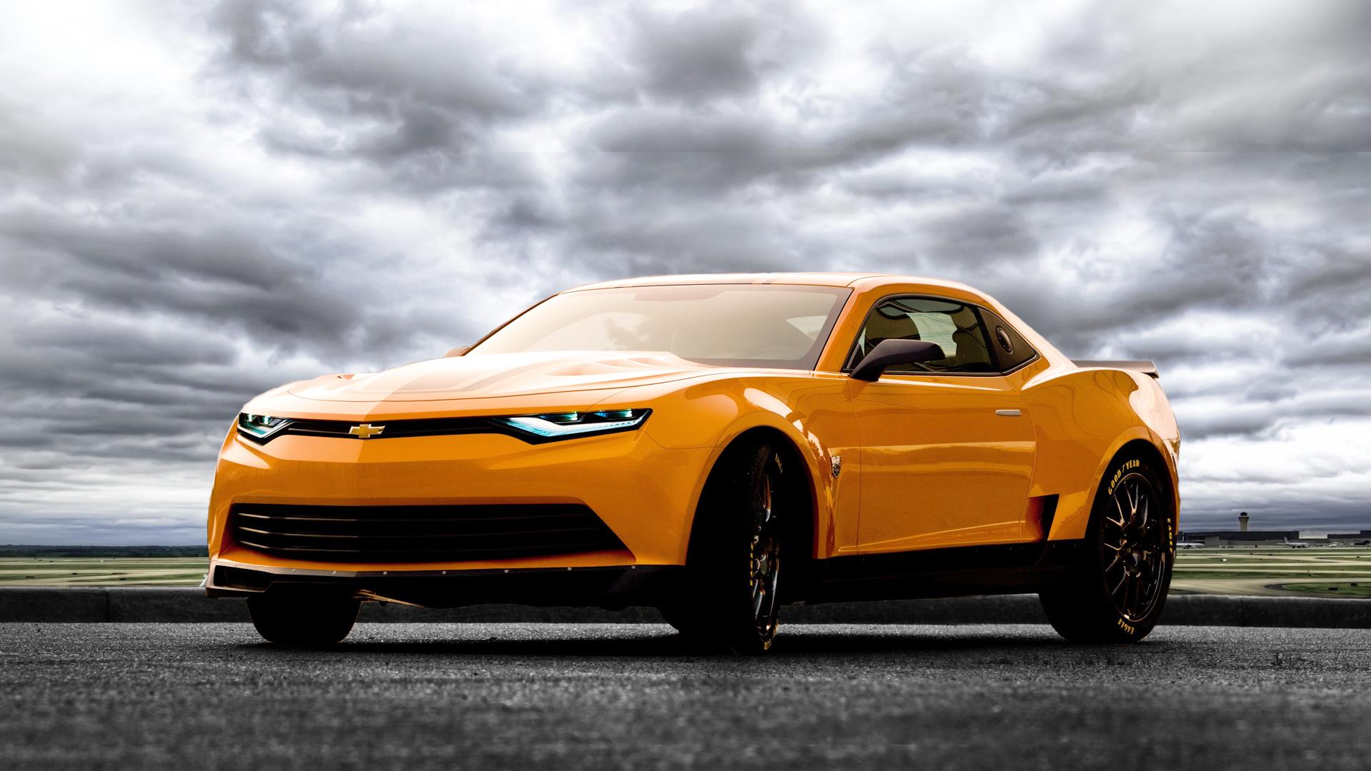 Car Drifting Wallpaper Hd 1080p Revelan Al Nuevo Bumblebee De Transformers 4 Cine Pericias
