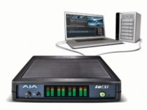 AJA Io XT, a Thunderbolt Enabled Pro Video I/O Device: