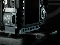 LockPort UNIVERSAL 5D and 7D mini HDMI camera port Saver Clamp: