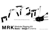 KCW Technica MRK Basic the 5 in 1 Modular Rigging Camera Kit: