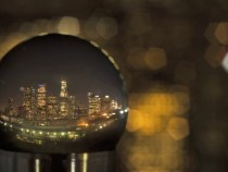 Snow Globe Los Angeles a Pretty Cool Timelapse: