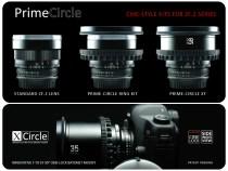 PRIME-CIRCLE RingKits for ZF.2 Lenses & PRIME-CIRCLE XT Lens Kits:
