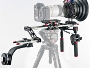Manfrotto SYMPLA Video & DLSR Modular Rigs at NAB 2012: