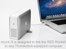 mLink R Enables RED Rocket Workflows Via Thunderbolt Connectivity: