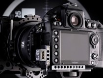 D800 LockPort 800 DSLR Clamp with Mini To Full Size HDMI Adapter: