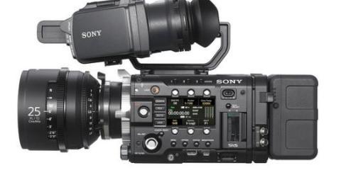 Sony F55 Side View