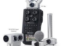 Zoom H6 Handy Recorder With up to 6 XLR TRS Jack Audio Inputs: