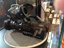 Snaps of the Sony PMW300 Camera at Broadcast Asia: