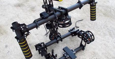 maxicopter muvistar brushless gimbal camera rig