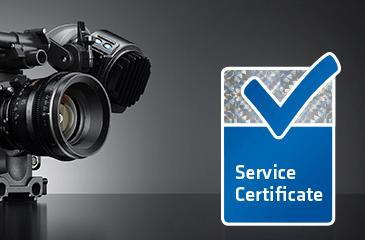 ARRI ALEXA Service Certificate